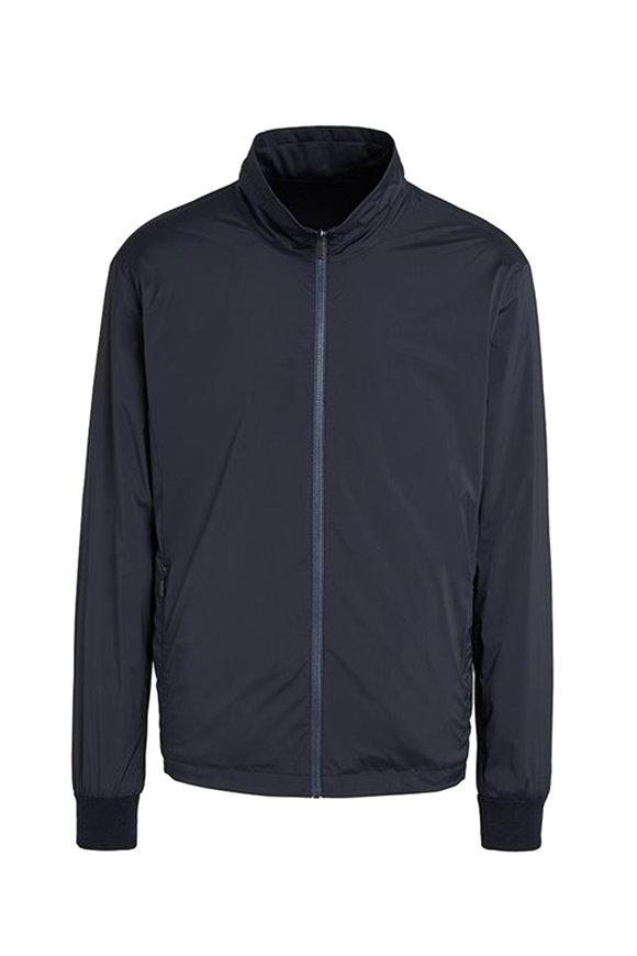 Z Zegna Navy Blue Lightweight Jacket