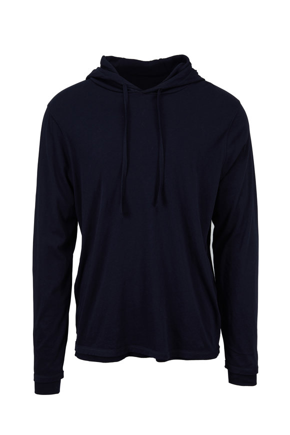 Vince New Coastal Double-Layer Hoodie