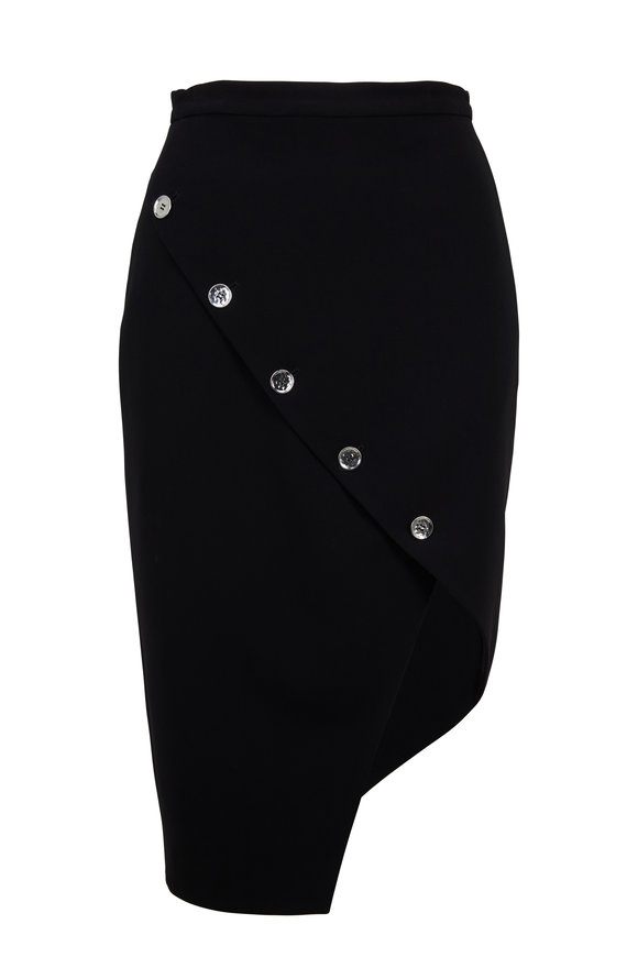 Altuzarra Paul Black Asymmetric Hem Skirt