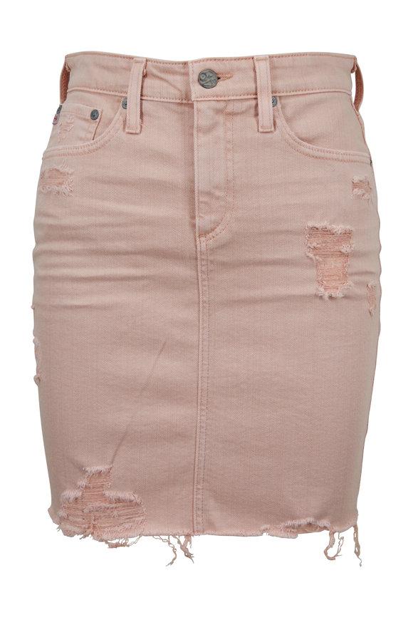 AG - Adriano Goldschmied The Erin Rose Denim Pencil Skirt