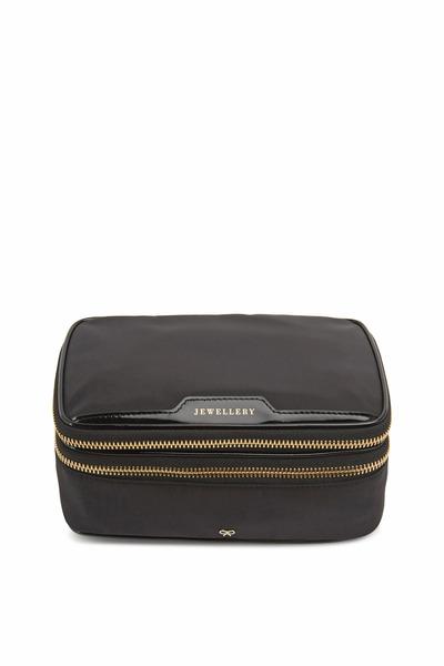 Anya Hindmarch - Jewellery Black Nylon Bag