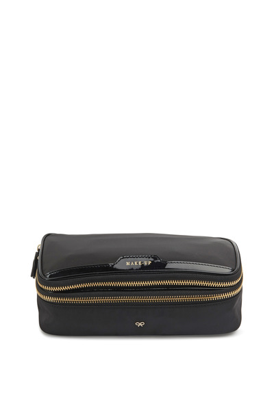Anya Hindmarch - Make-Up II Black Nylon Cosmetics Bag