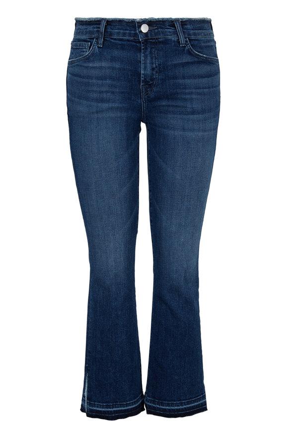 J Brand Selena Mid-Rise Crop Boot Jean