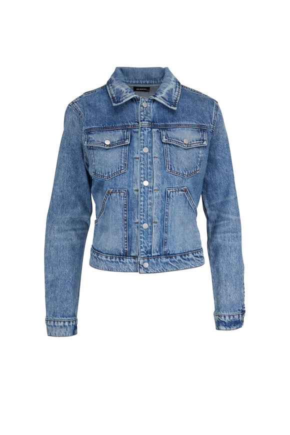 Hudson Clothing Ren Trucker Denim Jacket