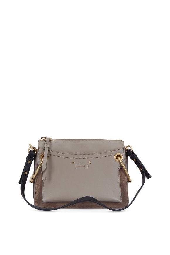 Chloé Roy Motty Gray Medium Shoulder Bag
