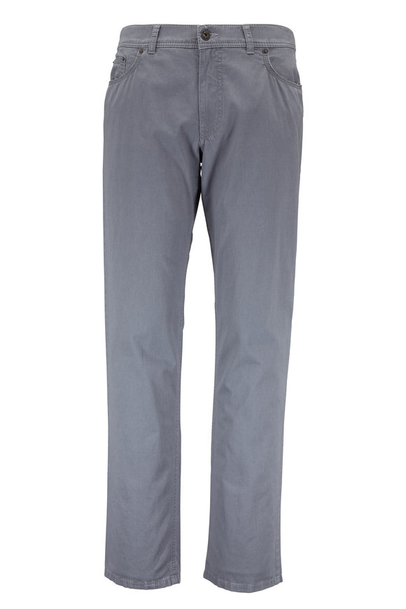 Brax Cooper Fancy Silver Five Pocket Pant