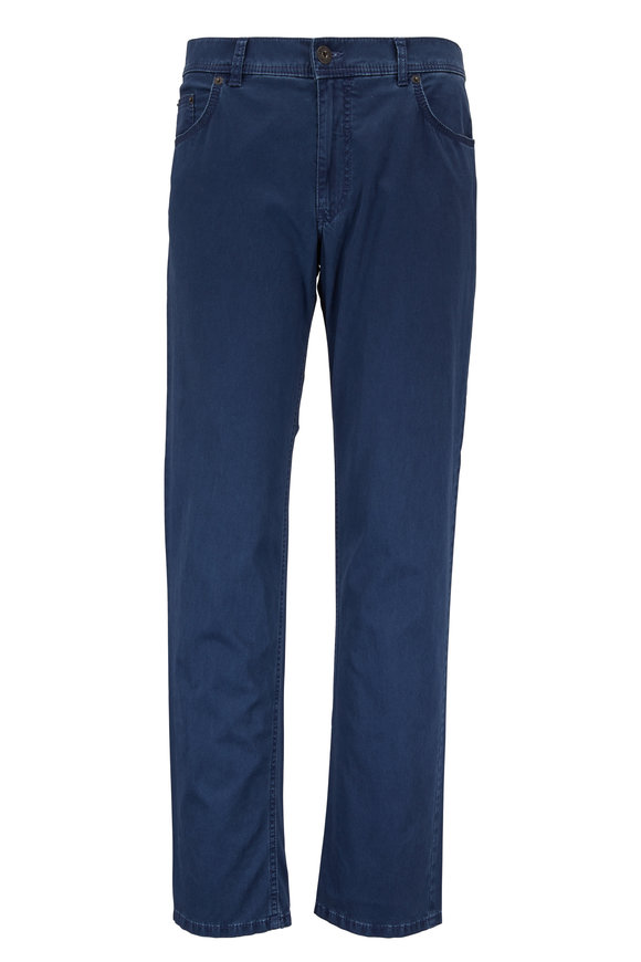 Brax Cooper Fancy Blue Five Pocket Pant