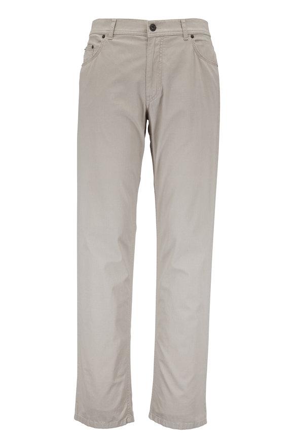 Brax Cooper Fancy Beige Five Pocket Pant