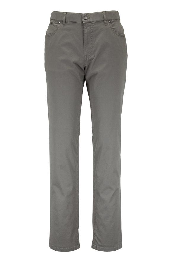 Hiltl Sage Green Stretch Cotton Five Pocket Pant