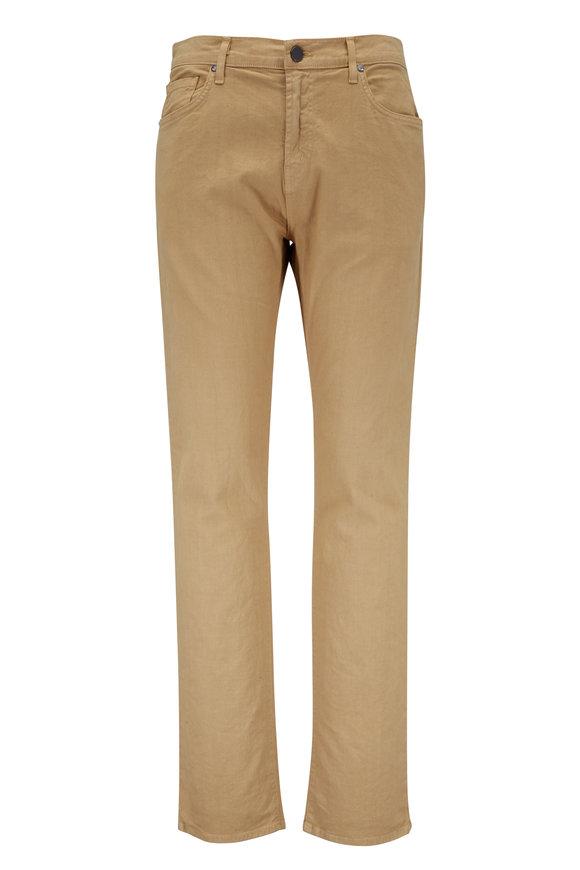J Brand Kane Khaki Five Pocket Jean