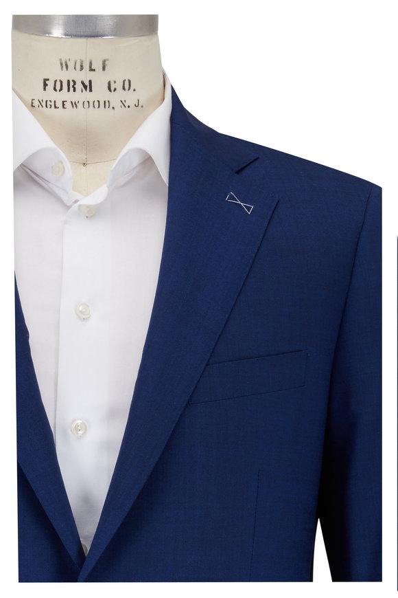 Atelier Munro Navy Blue Wool Suit
