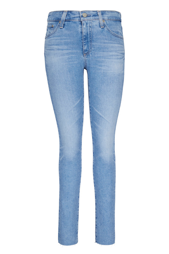 AG - Adriano Goldschmied Farrah High-Rise Ankle Skinny Jean