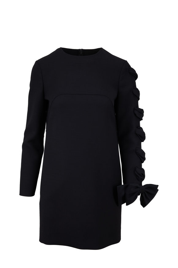 Valentino Very Valentino Black Wool Dress
