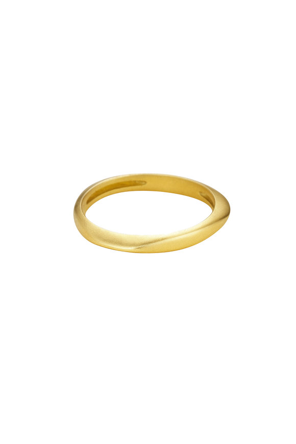 Sandy Leong 18K Yellow Gold Halo Stack Ring