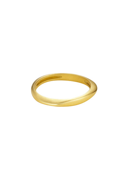 Sandy Leong - 18K Yellow Gold Halo Stack Ring