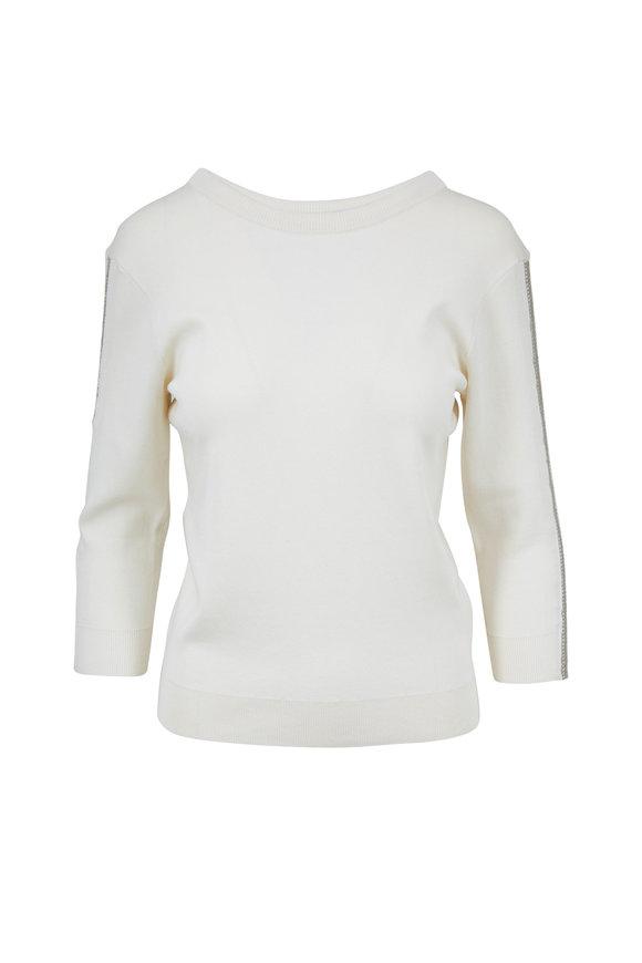 Chloé Iconic Milk Metal Trim Sweater