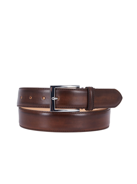 To Boot New York Alameda Brown Leather Belt