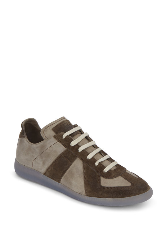 Maison Margiela Replica Vintage Ace Sage Low-Top Sneaker