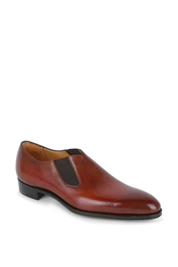 Gaziano & Girling Chester Light Brown Leather Dress Shoe