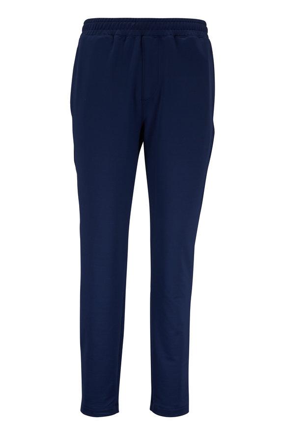 Rhone Apparel Navy Micro Terry Sweatpant