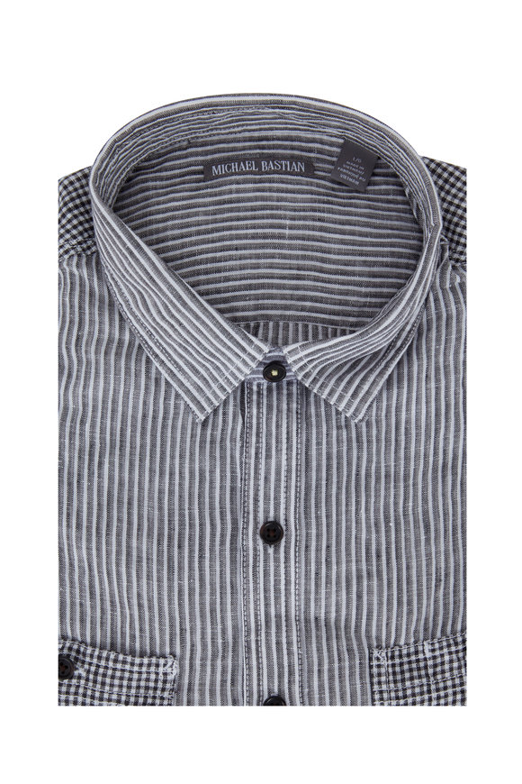 Michael Bastian Summer Fatigue Linen Sport Shirt