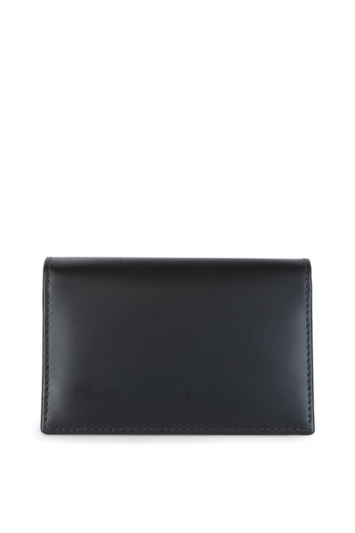 Ettinger Leather - Black & Yellow Leather Card Case