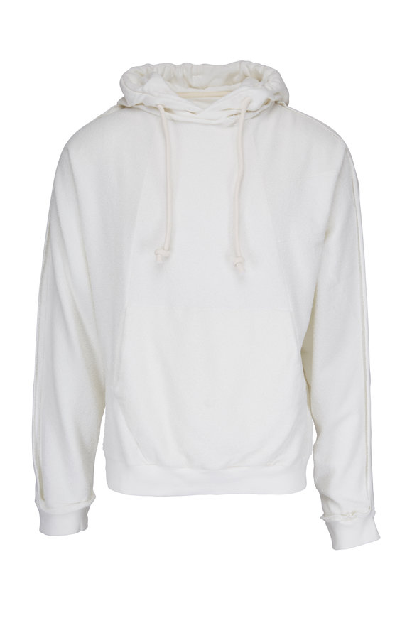 Maison Margiela White Pullover Hoodie