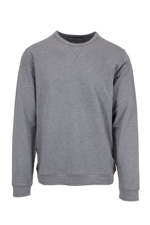 tasc Performance Gray Crewneck Sweatshirt