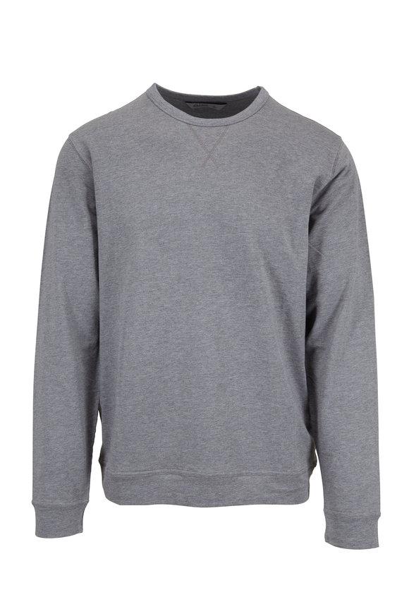 tasc Performance Gray Crewneck Sweatshirt