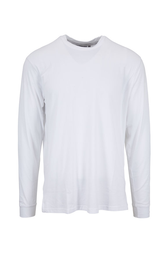 tasc Performance White Pimaluxe Crewneck T-Shirt