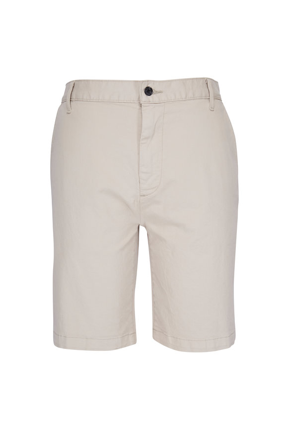 7 For All Mankind Chino White Onyx Shorts