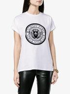 Balmain - White Medallion Graphic T-Shirt