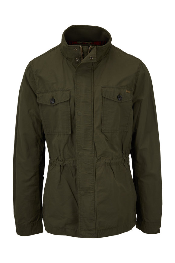 Woolrich Military Dark Olive Field Jacket