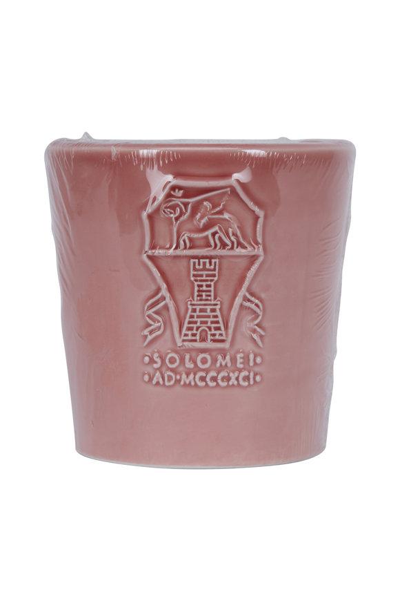 Brunello Cucinelli Rose Ceramic Small Candle