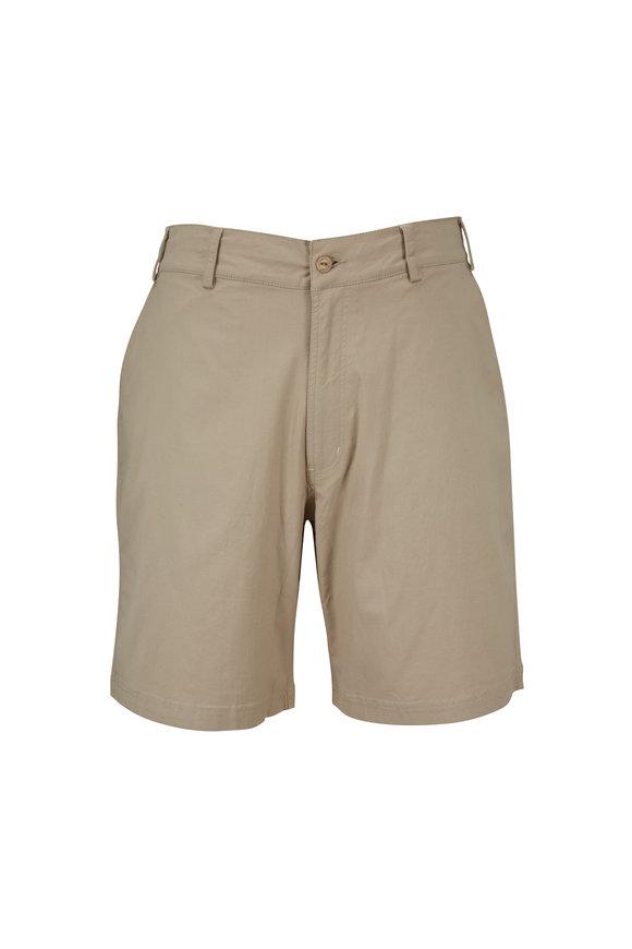 tasc Performance Drive Performance Khaki Shorts