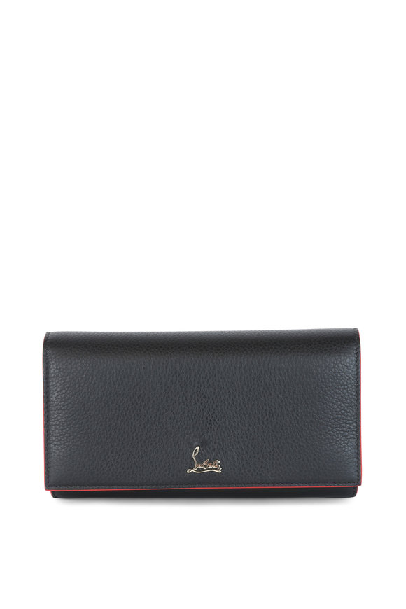 Christian Louboutin Boudoir Black Chain Wallet
