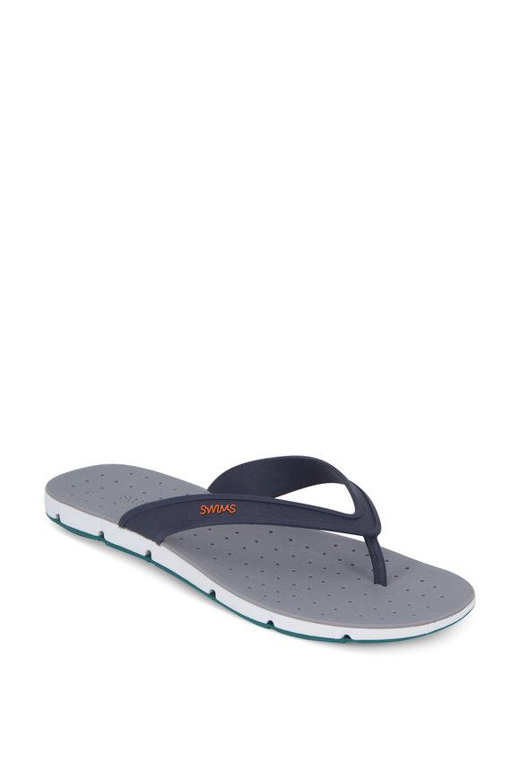 Swims Navy Blue Breeze Thong Sandal
