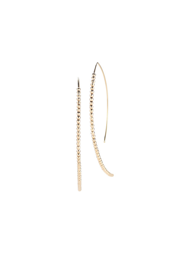 Mizuki Beaded Hoop Earrings