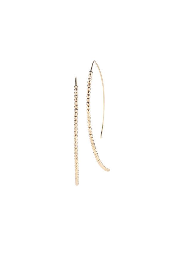 Mizuki Beaded Hoop Earrings