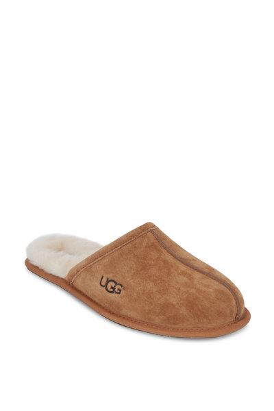 Ugg - Scuff Chestnut Suede Slipper