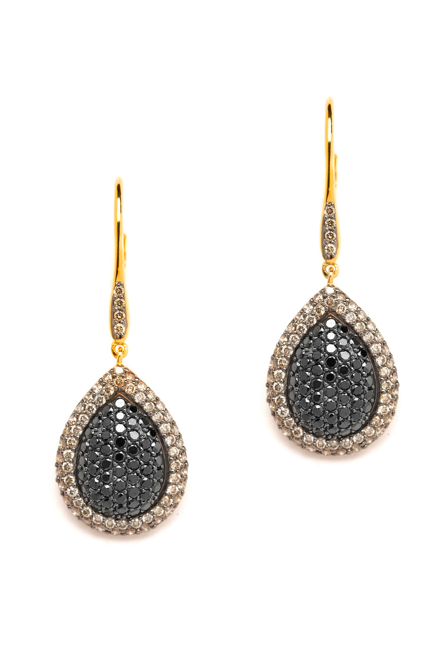 Black Diamond Mogul Earrings