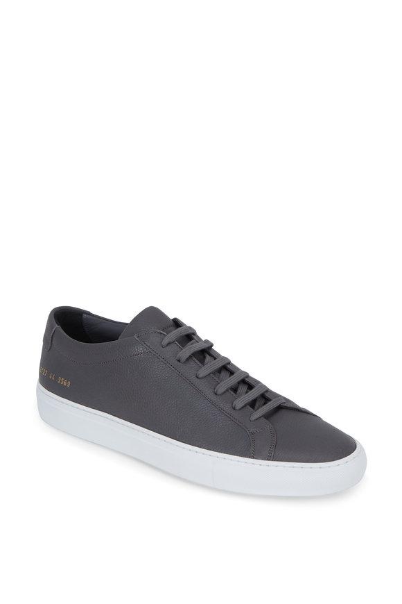 Common Projects Original Achilles Dark Gray Low-Top Sneaker