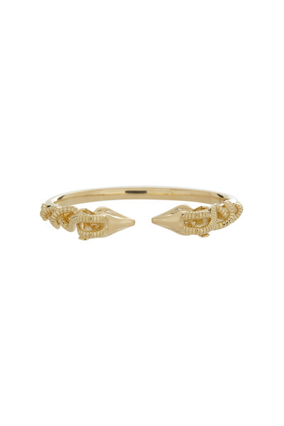 Temple St. Clair - 18K Yellow Gold Gazelle Bella Bangle