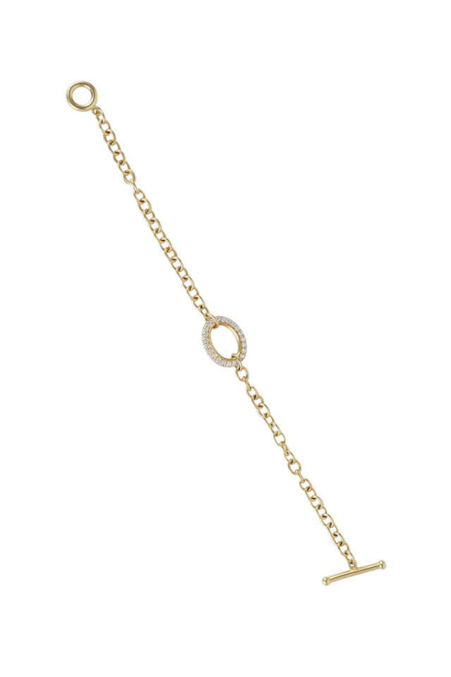 20K Yellow Gold Small Link Bracelet