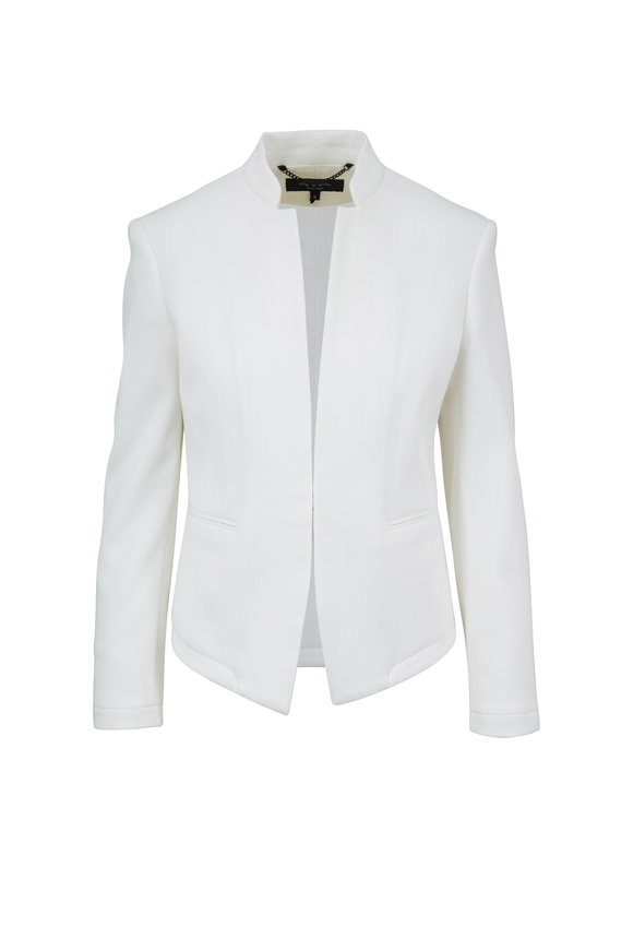 Rag & Bone Blake Cream Cotton Blazer