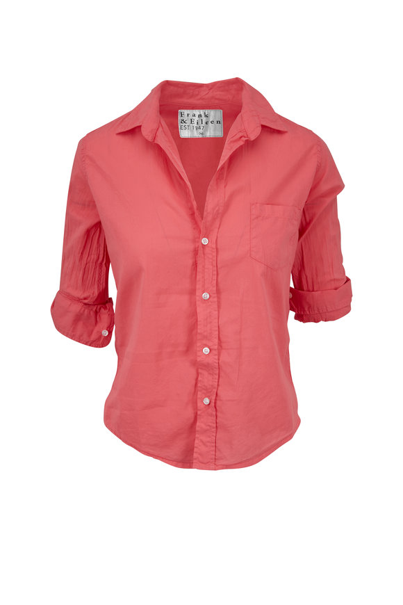 Frank & Eileen Barry Washed Pink Button Down