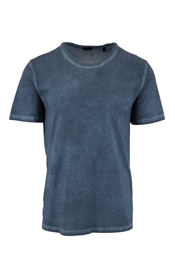 A T M Storm Blue Sublime Wash T-Shirt