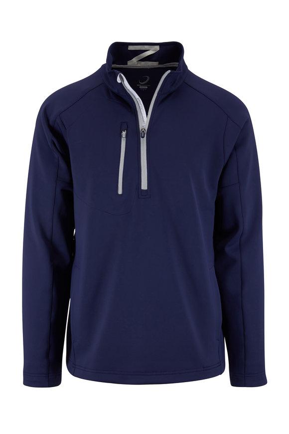 Zero Restriction  Z500 Navy Blue Quarter-Zip Pullover