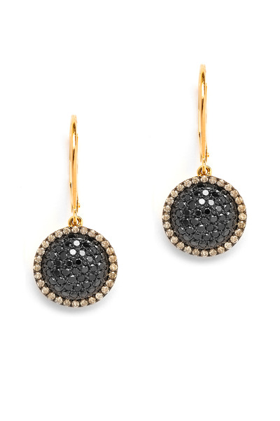 Syna - Black Diamond Chakra Earrings