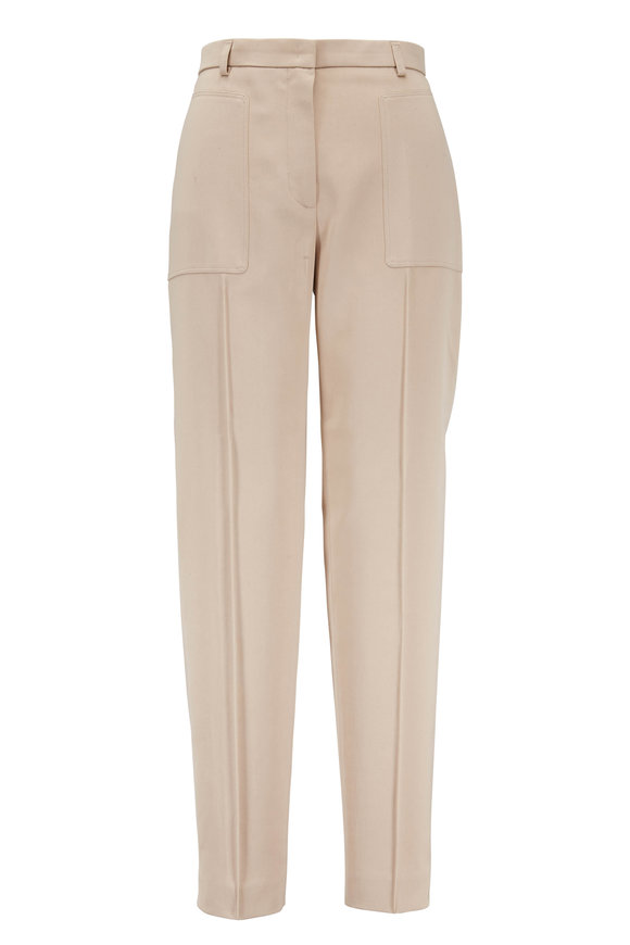 Akris Colin Sand Patch Pocket Pant